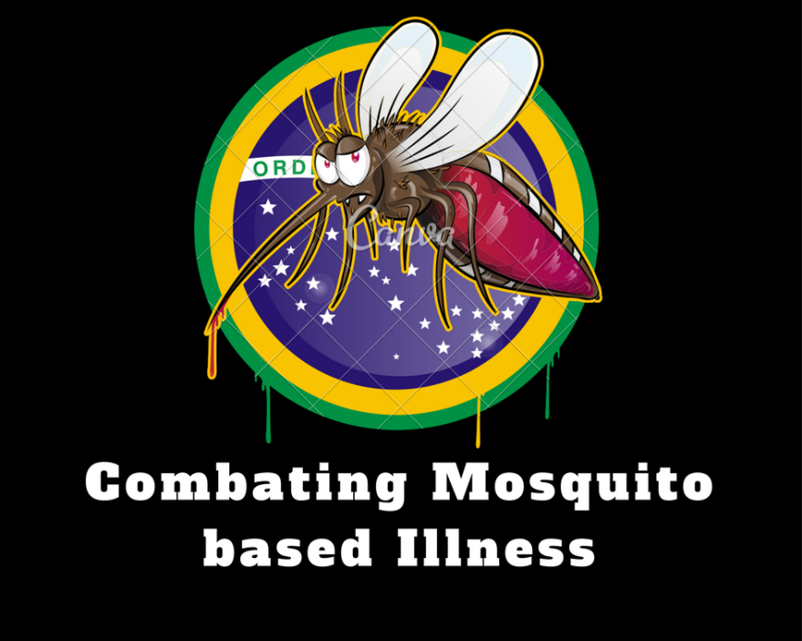 Which disease is caused by the bite of a female mosquito?